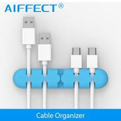 Cable Organizer, AIFFECT Cable Winder Wire Organizer Cable drop Clip Tidy USB Charger Cord Holder Cable Management for Phone-in Mobile Phone Cables from Phones & Telecommunications on Aliexpress.com | Alibaba Group