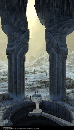 ☆ Gate in an empire Aid. Expedition :: Artist Alexandr Melentiev ☆
