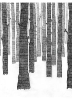Graphic Black & White Art Print by Scandinavian Artist Frida Stenmark