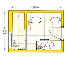 planos de baños completos - Buscar con Google