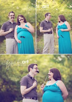 Silly maternity photoshoot.