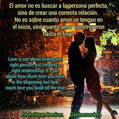 El amor se construye