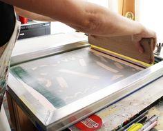 Screenprinting // The Paper Cub Co.