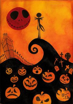 Nightmare before christmas by MissPoe