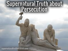 Is there a supernatural truth about persecution? Well if you're a Christian there is, and considering the days we're in, you'd better learn all about it!