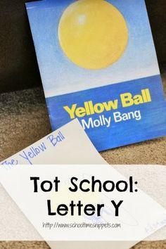 Tot School Letter Y