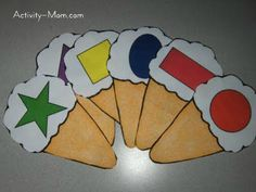Free Printable Activities | The Activity Mom ... I like the bear shape matching game!
