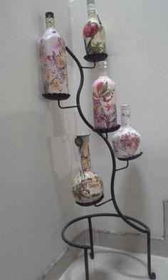 Botellas decorativas Mason Jar Lamp, Table Lamp, Home Decor, Decorative Bottles, Lamp Table, Decoration Home, Room Decor, Table Lamps, Interior Decorating