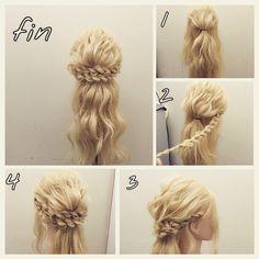 Идеи причёсок. Фото-уроки. фото #4
