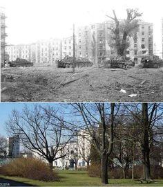 Plac Wilsona 1944 i 2015