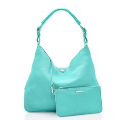Kensington hobo in grain leather with metallic interior. More colors available. | Tiffany & Co.  ❤️❤️