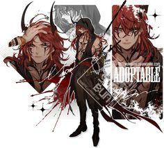 [auction] design set [pending] by yukibuns on DeviantArt Character Concept, Character Art, Concept Art, Fantasy Characters, Anime Characters, Manga Art, Anime Art, Cute Anime Guys, Character Design References