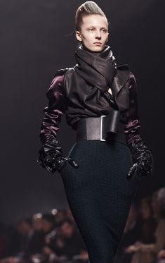 Haider Ackermann Fall 2011 The Party Goddess! Marley Majcher ThePartyGoddess.com #style #fashion #ackermannfall