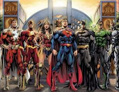 Justice League: Shazam Flash Wonder Woman Superman Batman Green Lantern & - Womens Batman - Ideas of Womens Batman - Justice League: Shazam Flash Wonder Woman Superman Batman Green Lantern & Cyborg by Jim Lee(? Justice League Comics, Arte Dc Comics, Dc Comics Superheroes, Dc Comics Characters, Cyborg Dc Comics, Gotham Comics, Justice League New 52, Justice League Characters, Comic Book Heroes