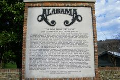 ALABAMA <-- the band. From the Payne....