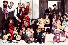 Dolce & Gabbana Children Summer Collection 2015: Advertising Campaign