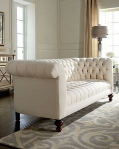 Old Hickory Tannery Ellsworth Tufted Sofa U003c3