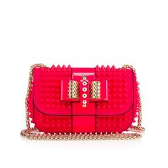 Sweety Charity Fushia Leather Must find a way to DIY this. I can not afford the real thing, but it is so cute!