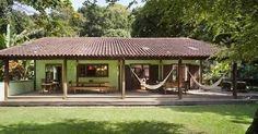 Resultado de imagen para casas de campo sencillas y frescas al aire libre