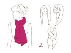 como amarrar lenços - Pesquisa Google