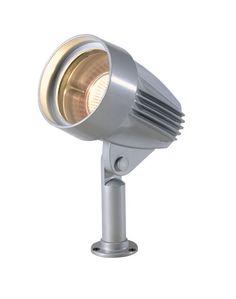 Techmar Dominus 3073051 Aluminium Outdoor Garden Spotlight, Silver