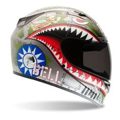 BELL - 2013 Vortex Flying Tiger Full-Face Motorcycle Helmet - Full-Face - Motorcycle Helmets - Biker - CycleGear - Cycle Gear