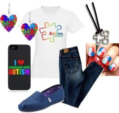 How about a cute apraxia twist?  Apraxia Awareness Day 5/14  Autism Awareness #FashionFriday