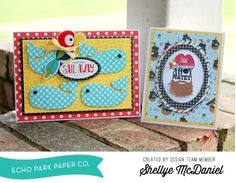 e63a1fa26a2c5 Pirates Life Card Set by Shellye McDaniel featuring the