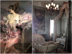 This lavish apartment was discovered untouched for 70 years French Apartment, Parisian Apartment, Paris Apartments, Abandoned Houses, Abandoned Places, Peeling Wallpaper, The Daily Beast, Italian Artist, French Country Decorating