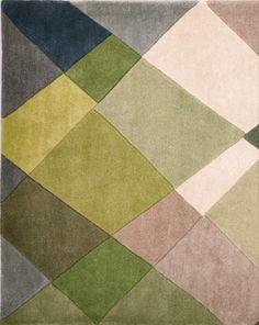 Next rug - green.