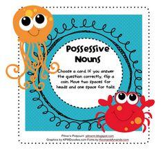 Pitner's Potpourri: Possessive Nouns - Freebie
