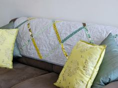 I like the simplicity of this one... Bijou Lovely | 14arcadia lattice quilt.