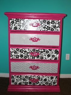 Would also look great with a zebra print. #recycle