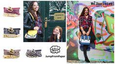 """We Positive - Ein Statement für das Positive im Leben und eine tägliche Inspiration zum """"Besserleben"""". Als Armband getragene Lebensphilosophie welche das positive Denken stärkt. JumpFromPaper trifft den Nerv der Zeit. JumpFromPaper Fashion ist wie gemalt - bunt, schrill und quirlig. #positive #fashionaccessory #musthave #creativa #natura24ch #happy #wepositive #armbänder #echtleder #bracelets #Lifestyle #trend #present #like #mussichhaben #creativa1001 #jumpfrompaper #handtaschen #fashionbag Trends, Statements, Bunt, Fashion Accessories, Positivity, How To Make, Daily Inspiration, Handbags, Beauty Trends"""