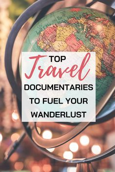 The Best Travel Documentaries to fuel your Wanderlust Whenever traveling is not possible what can we do to fuel our Wanderlust? – Check this list of travel documentaries that will expose to you the unseen beauty of the world around us! Travel Articles, Travel Tips, Travel Destinations, Travel Ideas, Travel With Kids, Family Travel, Travel Movies, Travel Books, National Geographic Photography