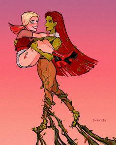 Harley Quinn Drawing, Harley Quinn Comic, Joker And Harley, Hearly Quinn, Dc Couples, Casa Anime, Hera, Gotham Girls, Lesbian Art