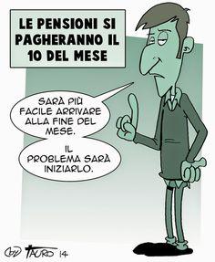 """ITALIAN COMICS - """"Il Mondo in una vignetta"""" di Antonio Silvestri (Tauro): la pensione… creativa"""