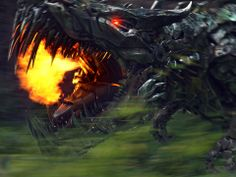 """Ancient dinosaur-like creatures called Dinobots make a strong addition to the power franchise. """"When they enter, they come with feet and fists first,"""" says producer Lorenzo di Bonaventura."""