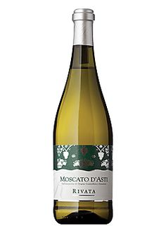 Rivata Moscato d' Asti  Sweet, Peach, Honey, Medium-bodiedPiedmont, Italy- Softly sparkling bubbly loaded with peach, mango, and honey flavors. Estate bottled from carefully selected grapes this sweet wine is perfect alone, as an aperitif or with dessert. Great with spicy pork appetizers