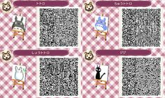 QR Codes for AC Addicts various totoro characters