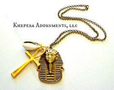 Ankh jewelry | Etsy
