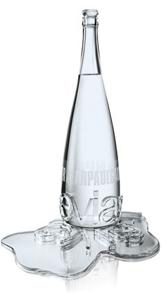Jean-Paul Gaultier and Baccarat – Haute Couture Evian Collection, Reflection Bottle