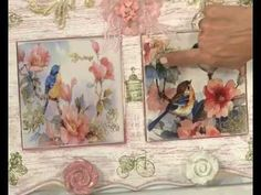 Cómo hacer símil trencadis con acetato - How to make faux trencadis on acetate - YouTube Decoupage Vintage, Decoupage Box, Diy And Crafts, Arts And Crafts, Paper Crafts, Eq Arte, Craft Tutorials, Craft Projects, Art And Hobby