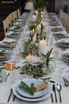 table setting orangery home