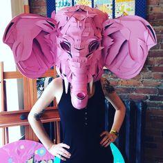 Paper Elephant by Jacqui Oakley