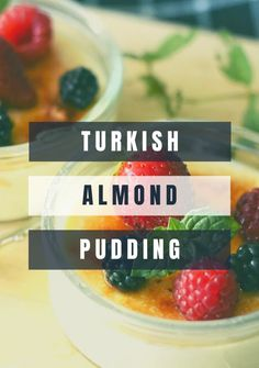 Almond Pudding Recipe, Pudding Recipes, Sweets Recipes, Real Food Recipes, Yummy Food, Veg Recipes, Yummy Recipes, Fall Desserts, Desserts For A Crowd