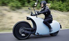Johammer J1, una moto eléctrica retro-futurista que te tentará