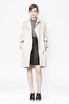 Freeway Cotton Belted Trench Coat - Sale - French Connection Usa