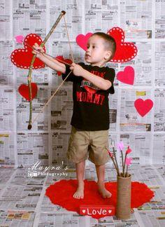 Valentine's day cupid photo ideas