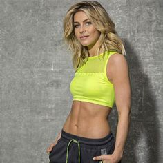 Get the hottest new workout clothing from your favorite star, Julianne Hough! She teamed up with MPG sport for a new activewear line that looks great in the gym or out and about with the girls. Flirty sports bras, leggings, shorts and tops fill out the new collection.